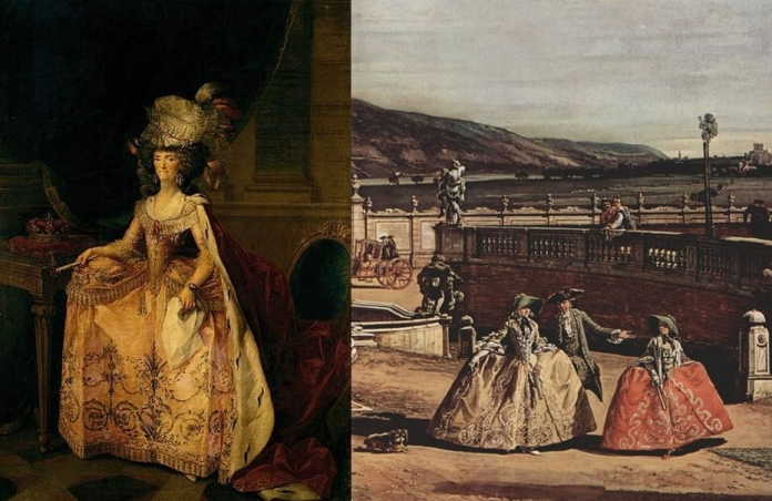 Maria-Louisa di Parma von Valasquez & Canaletto