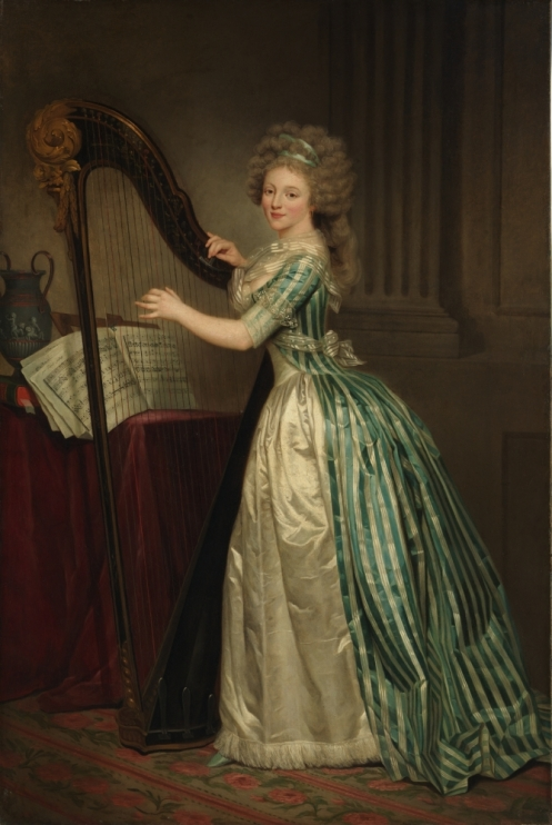 Rose Adelaide Ducreux, Selbstporträt ca. 1791