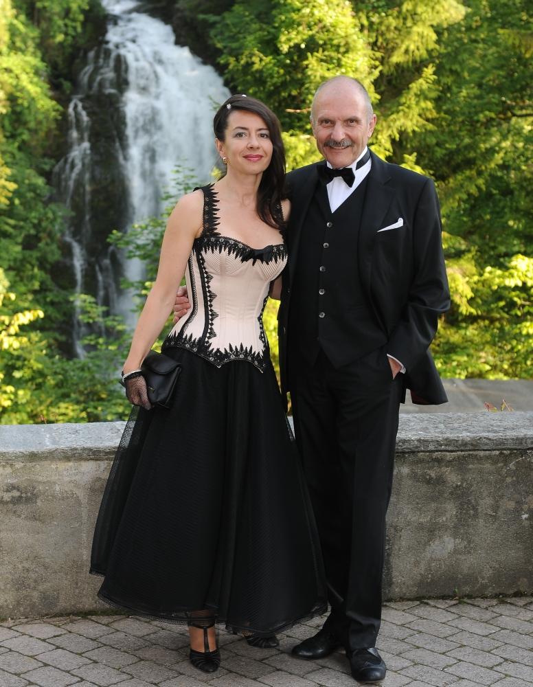 Beata Sievi und Rolf Schneider, Sommernachsball 2011