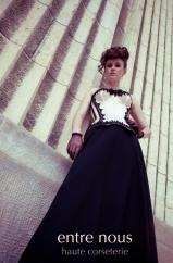 "Korsett ""Contessa pale"", Massanfertigung Beata Sievi Corset Artist"