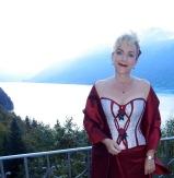 """Le corset """"Rose d`autumne"""", création unique de Beata Sievi, Atelier """"entre nous"""", Winterthur"""