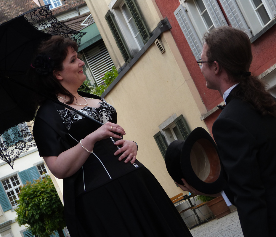 "Korsett ""Queen Mary"" Atelier ""entre nous"" in Winterthur Bild Beata Sievi"