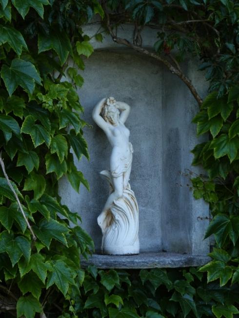 Hotel Giessbach - romantischer Garten
