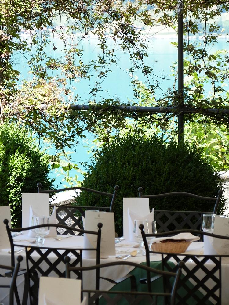 Grandhotel Giessbach - Restaurant um die Mittagszeit