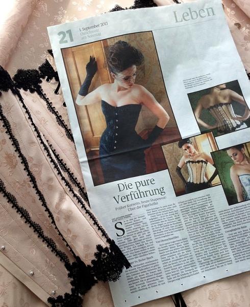 """""""Die pure Verführung"""" Artikel Ostschweiz am Sonntag"""