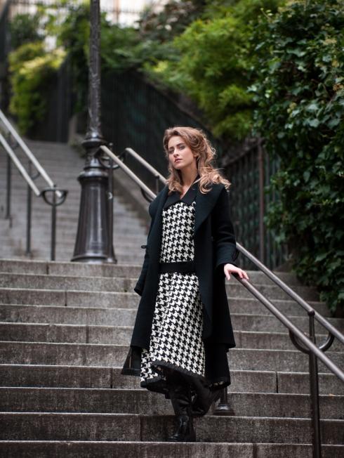 Pepita Kleid Vintage Couture Style Atelier « entre nous », Bild: Ewald Vorberg