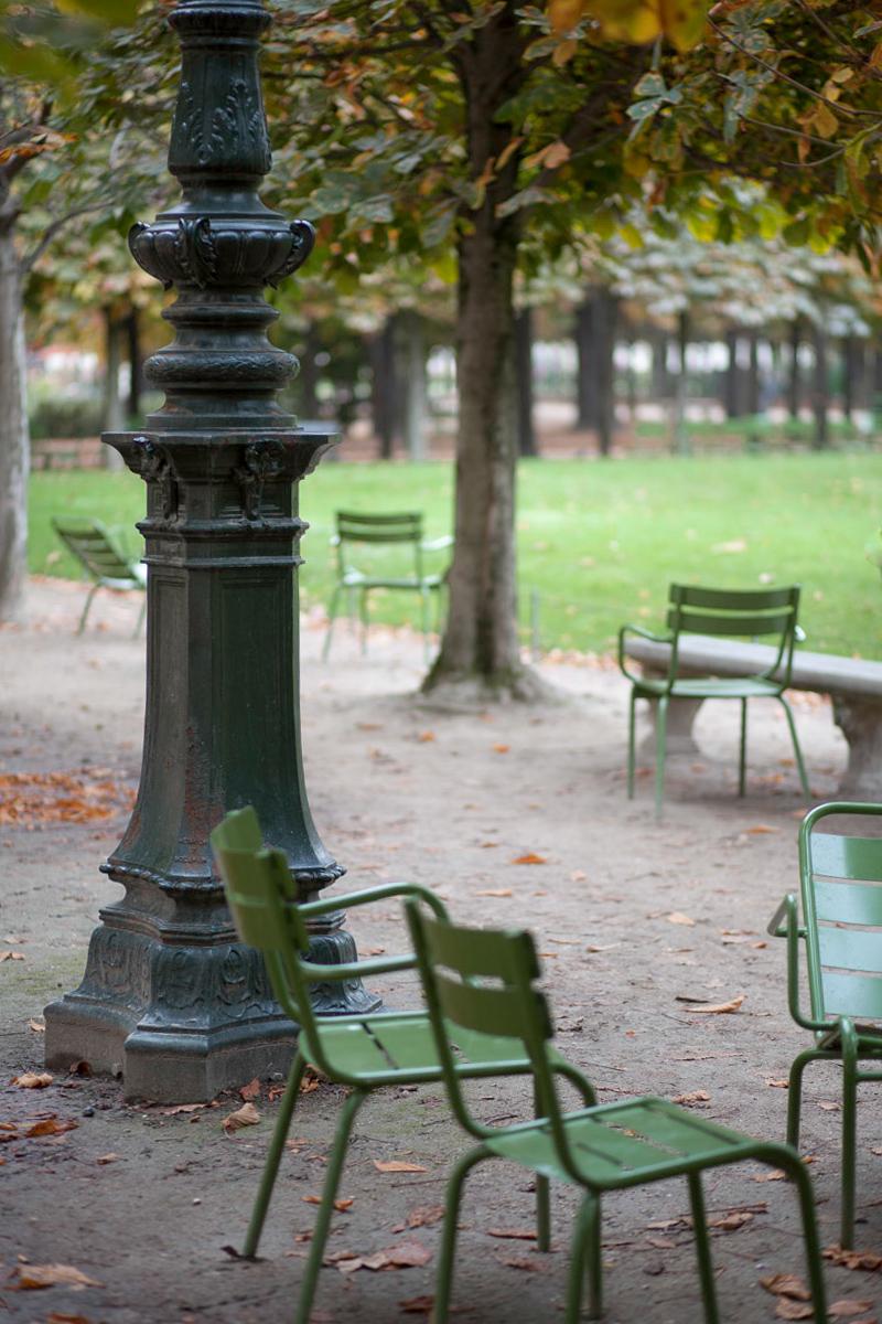 Park beim Palais Royal im Oktober, Bild: Ewald Vorberg