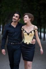 """Spitzenbustier """"Paris"""" von Beata Sievi, Spitzenbustier aus St.Galler-Spitze"""