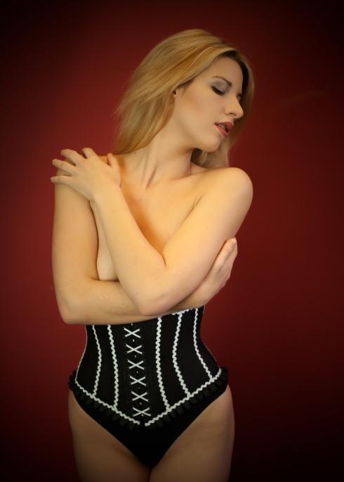 """Boudoir corset by Beata Sievi, Atelier """"entre nous"""" Winterthur"""