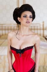 """Korsett """"Contessa rouge"""", Beata Sievi Corset Artist"""