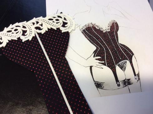 Boudoir corset beata Sievi
