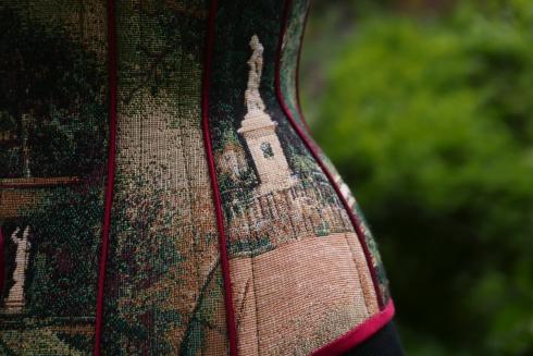 """""""Tränen des Eros"""" - romantische Korsett-Kreation nach Mass von Beata Sievi Corset Artist"""