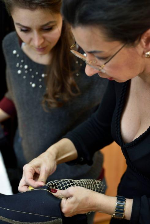 Korsett-Kurs von Beata Sievi Corset Artist in Winterthur - Bild: Bernhard Holdener